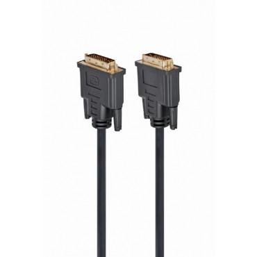 CC-DVI2-BK-10M: DVI cable - Dual link DVI-D to DVI-D cable - Length: 10 meters - Color: black