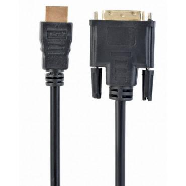 CC-HDMI-DVI-10: HDMI to DVI cable - 3 m - HDMI male / DVI male - gold plated - single Link
