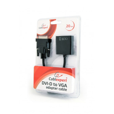 AB-DVID-VGAF-01: DVI-D to VGA adapter cable 20 cm