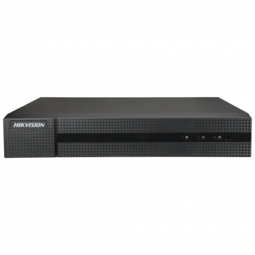 HWD-6232MH-G2: 5n1 Hikvision recorder - 32 CH HDTVI / HDCVI / AHD / CVBS / 2 IP - 4Mpx (8FPS) /4Mpx Lite (15 FPS) - Compression H.265+ / H.265 - Outputs 4K HDMI & VGA - 1 CH audio / Supports 2 hard drives