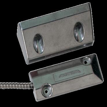 DC108R4.7: Port/overhead contact - aluminum version - 2m - distance ±75 mm - NC. Includes 2 resistors
