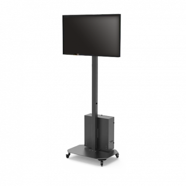 """LCD2342-F: Mobile support for LCD monitor - Base installation - Tilt -12º ~ 3º 
