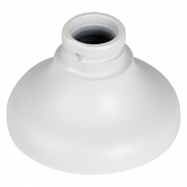 PFA106: Branded - Ceiling bracket - Suitable for domes - Made of aluminum - 83.5 (H) x 134.1 (Ø) mm - Cable pass