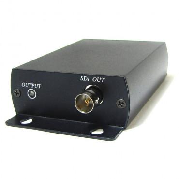 SDI02: HDMI to HD-SDI Converter - Converts HDMI to SDI signal - Resolution up to 3G-SDI, 1080p@60Hz for HDMI