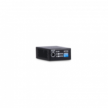 IP09: Ethernet over CAT5e Extender - Extends IP signal over a cost-effective Ethernet cable - Signal extension up to 800M over a CAT5e (or greater) cable - Bandwidth up to 100Mbps - Built-in 1.5KV (Line to Line) surge protection