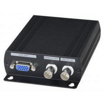AD001HD4: HDCVI/HDTVI/AHD/CVBS to HDMI/VGA/Compoiste Video/loop out Converter - Converts HD-TVI, AHD, HDCVI, NTSC/PAL, 960H to HDMI, VGA, and composite video - Resolution up to 1080p@25/30Hz for...
