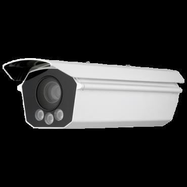 "SF-IPB600HA-9YLPR-2500: IP LPR 9 Mpx BOX Camera - 1/1"" Progressive Scan CMOS - Integrated license plate reading - 25 mm Lens - IR LEDs Range 27 m - WEB, CMS Software, Smartphone and NVR"