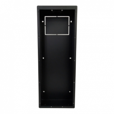 VTM119: X-Security - Surface support for Villa video intercom XS-V6441E-IP - A module - 411mm (H) x 150mm (W) x 127mm (D) - Made of aluminium alloy - Versatile connection, cable entrances on all sides