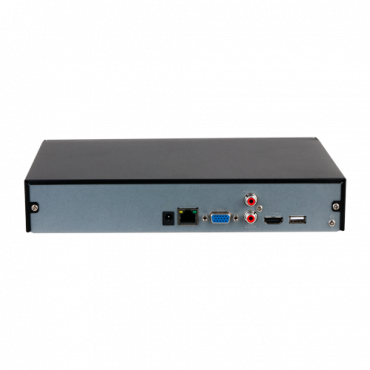 XS-NVR3104-4K-1FACE: X-Security NVR for IP cameras - 4 CH IP video - Maximum recording resolution 12 Mpx - 1 CH facial recognition - 2 CH human and vehicle recognition - Compression H.265+