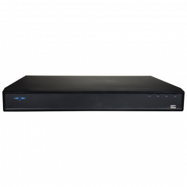 XS-XVR3116-HV: DVR 5n1 X-Security - 16 CH HDTVI / HDCVI / AHD / CVBS / 16+2 IP - 1080N/720P (25FPS) | H.265+ - SMD+, enhanced motion detection - Two-way audio via RCA - Supports 1 hard disk up to 10TB