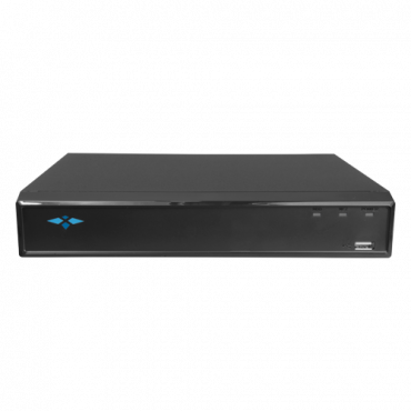 XS-XVR6104S-1FACE: DVR 5n1 X-Security - 4 CH HDTVI/HDCVI/AHD/CVBS(5Mpx) + 2 IP(6Mpx) - Audio over coaxial - 4Mpx Lite(15FPS) or 1080p Lite(25FPS) resolution - 1 CH facial recognition - 2 CH Human and vehi...