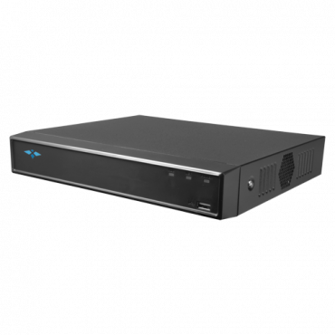 XS-XVR6104S-4KL-2FACE: DVR 5n1 X-Security - 4 CH analog (8Mpx) + 4 IP (8Mpx) - Audio over coaxial - 4K (7FPS) Recording Resolution - 2 CH facial recognition - 4 CH Human and vehicle recognition
