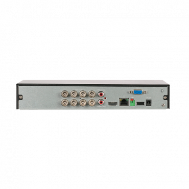 XS-XVR6108S-2FACE: DVR 5n1 X-Security - 8 CH HDTVI/HDCVI/AHD/CVBS (5Mpx) + 4 IP - (6Mpx) - Audio over coaxial - 5M-N (10FPS) Recording Resolution - 2 CH facial recognition - 8 CH Human and vehicle recognition