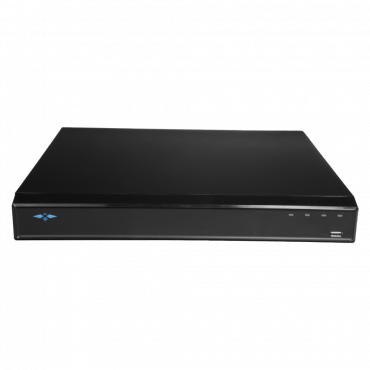 XS-XVR6232-H: DVR 5n1 X-Security  - 32 CH HDTVI/HDCVI/AHD/CVBS/ up to 32CH IP (6Mpx) - 4M-N/1080p(25FPS) Recording Resolution - PTZ Control (RS485/Coaxial) - Audio All-over-Coax - Facial Recognition