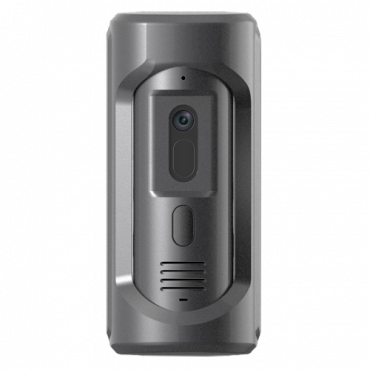 XS-V2101E-IP-V2: Video intercom IP - Camera 2Mpx wide-angle with WDR - Bidirectional audio - Mobile App for remote monitoring - IK10 protection anti-vandal - Surface mounting | PoE