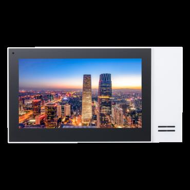 "XS-V2421M-IP-POE: Video Intercom Monitor - 7"" TFT Screen - Bidirectional audio - TCP / IP | PoE - MicroSD slot max 32 Gb - Surface mounting"