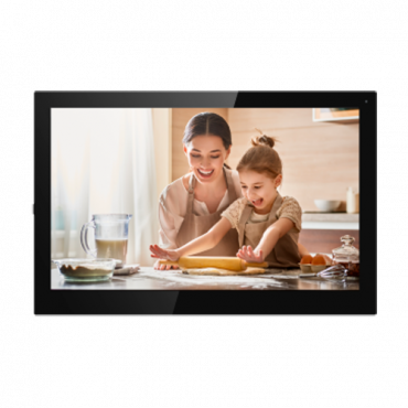 """XS-V5321MA-WIP: Video Intercom Monitor - TFT screen from 7"""" Android 8.1 - Two-way audio and inter-device calls - TCP / IP and WiFi - Slot MicroSD 
