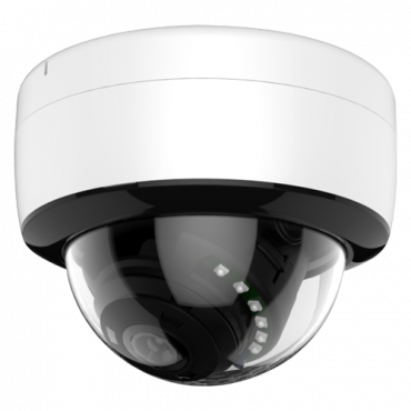 "D925-5P4N1: Dome camera Range 5Mpx PRO - 4 in 1 (HDTVI / HDCVI / AHD / CVBS) | IP66 - 1/2.5"" K03+FH8538M - 3.6 mm Lens - IR LEDs Array Range 20 m | ICR - OSD remote menu from DVR"