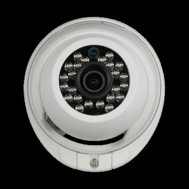 "DM941V2-HAC: 720p ECO Dome Camera - HDCVI output - 1/3"" 1.3 Mpx PAS5130 - 3.6 mm Lens - IR LEDs Range 20 m - Weatherproof IP66"