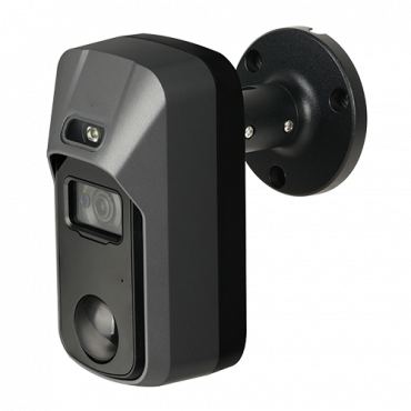 XS-C030SWPIRL-2UHAC-IG: HDCVI 2 Mpx Starlight Camera - Active deterrence with white light - 2.8 mm Lens - Deterrent light and built-in siren - PIR detection up to 15 meters - Audio / Alarm