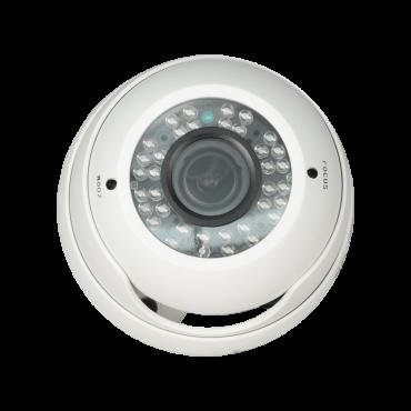 T955V-1EHAC: 720p ECO Dome Camera - HDCVI output - 1.3 Mpx PS4100+V20 - 2.8~12 mm Lens - IR LEDs Range 20 m - Weatherproof IP66