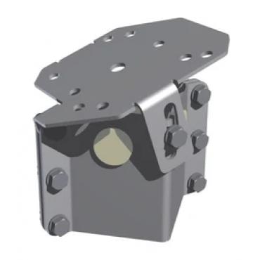 MST12577Z: Camera attachment with pinch head, black