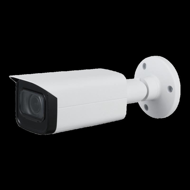 "XS-B830ZSWA-5U4N1: X-Security HDCVI bullet camera - 1/1.8"" Progressive CMOS 4 MP Starlight+ - 3.7~11 mm motorised varifocal autofocus lens - WDR (120dB) - IR LEDs range 80 m - Weatherproof IP67"