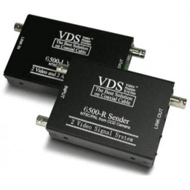 VDS6500: Video transmission Dual Link with 2 HD Camera (AHD, TVI, CVI, CVBS) Video signals