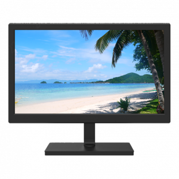"""MNT19: Monitor SAFIRE LED 19""""  Designed for surveillance use - Resolution 1366×768 - Format 16:9 - Inputs: 1xVGA - Without image distortion"""