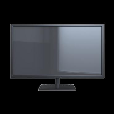 "SF-MNT28-4K-UHD: Monitor SAFIRE LED 28"" - Designed for video surveillance 24/7 - Resolution 4K (3840x2160) - Format 16:9 |PIP/POP/QUAD display - Inputs: 3xHDMI, 1xDP - Outputs: 1xAudio - VESA 100x100 mm"