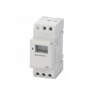 W-HDC1C: Weekly digital clock 230 V / AC - 1 contact