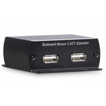 KM03: USB Keyboard & Mouse CAT5e Extender 600M - Extends USB Keyboard and mouse over one CAT5e UTP cable - Signal extension up to 600M - No external power required for TX unit - No external power re ...