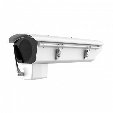 DS-1331HZ-W: Hikvision - Protective casing with side opening - Automatic temperature control - Built-in windscreen wipers - Weatherproof IP67 - Aluminium alloy