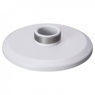 PFA100: X-Secuity - Ceiling bracket - For motorised dome cameras - Made of aluminum - 37 (H) x 150,8 (Ø) mm - Cable pass