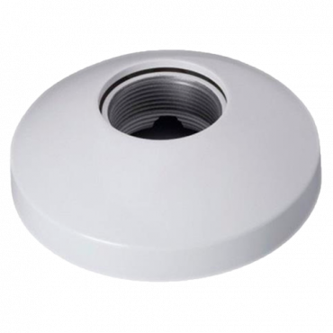 PFB301C: X-Security - Ceiling bracket - For motorised dome cameras - Made of aluminium and polycarbonate - 41,5 mm (H) x 133,6 mm (Ø) - Cable pass