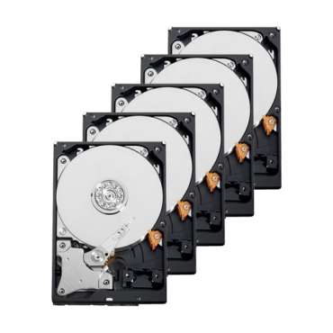 10XHD1TB-S: Hard Drive Pack - 10 units - Seagate - ST1000VX001 - 1TB of storage - Special surveillance HDD
