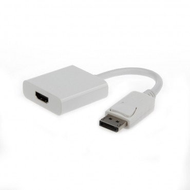 A-DPM-HDMIF-002-W : DisplayPort to HDMI adapter cable, white
