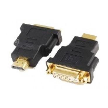 A-HDMI-DVI-3 : HDMI (male) naar DVI (female) adapter - 1 unit