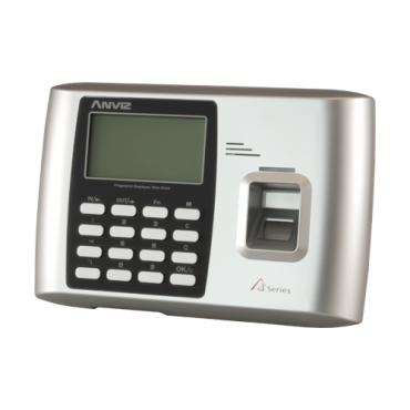 A300-WIFI: ANVIZ Time & Attendance Terminal - Fingerprints, RFID cards and keyboard - 2000 recordings / 50.000 records - TCP/IP, USB, WiFi, relay for siren - 8 Time & Attendance control modes - Free CrossChex Software