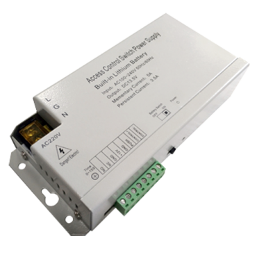 VT-AC-12DC3A-BAT: Power supply - Exclusive for access control - Control of different locks - Backup battery - Can be configured in NC/NO - Communication by Wiegand and RS485