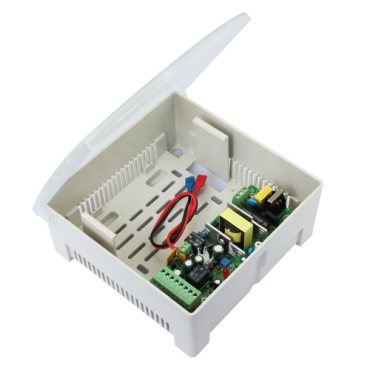 VT-AC-12DC3A-P: Power supply - Exclusive for access control - Control of different locks - Compatible with backup battery - Can be configured in NC/NO - Surface mounting