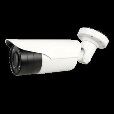 "B721ZSW-5U4N1: 5Mpx/4Mpx Bullet camera ULTRA range - 4 in 1 (HDTVI / HDCVI / AHD / CVBS) - 1/2.8"" Sony© IMX335+FH8556 - 2.7~13.5 mm Motorised Lens - IR LEDs Array Range 60 m - WDR 120dB"