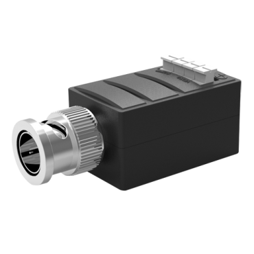 BA615A-TX: Active transceiver - Optimized for HDTVI / HDCVI / AHD - 1 video channel - BNC/UTP 4 pins - Range: 400 ~ 700 m - Transmitter / Compatible with BA615A-RX