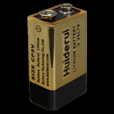 BATT-CP9V: Battery CP9V - 9.0 V - Lithium - High quality - Small size
