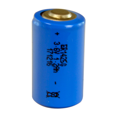 BATT-ER14250: Battery ER14250 - 3.6 V - Lithium - High quality - Small size