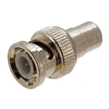CON210 : BNC male to RCA female connector - 1 unit