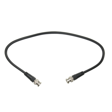 BNC1-100:Prepared cable - 1 coaxial link - BNC male to BNC male in each end - Length 1 m - For connecting Balun receiver to DVR