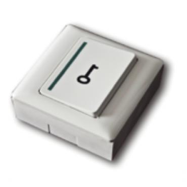 "AC-BOPO : Push button abs NO+NC with ""key"" symbol"