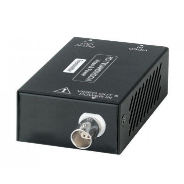 CA101HDP: HD-TVI / AHD / HDCVI with Power over one Coax 400M( 24VDC power adapter included)