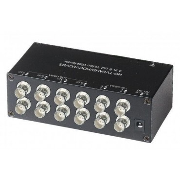 CD408HD: HD-TVI / AHD / HDCVI / CVBS  4 in  8 out Video Distribution Amplifier